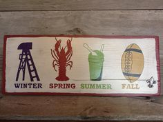 Seasons of Louisiana...this isn't on etsy anymore, prob bc of an copyright violation (it was originally a storyville shirt) but I feel like I could paint this myself....challenge accepted =)
