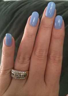 Winter color for nails oval natural no gel