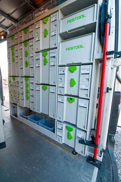 Mercedes Sprinter - Kitchen fitter setup with festool and more