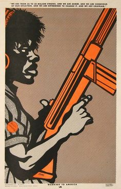 'The Art of the Black Panthers': Revolutionary designer Emory Douglas | Dangerous Minds