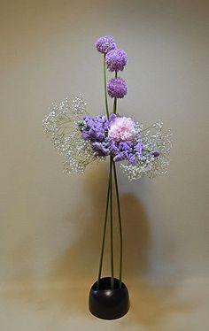 Ikebana ... inspiracja na nasz stół.   Wariacje wokół stołu ...