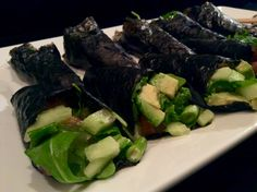 #healthy #sushi #salmon  w/ @koning1501