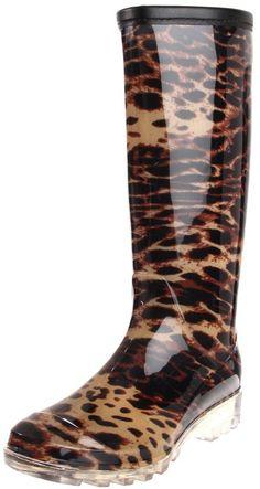 Bootsi Tootsi Women's Cheetah Rain Boot