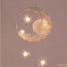 Kid's Room Lighting Modern Fashion Moon&Star Pendant Lights Child Bedroom Lamps Aluminum Chander for Living Room Home Decoration(China (Mainland)) Star Chandelier, Chandelier Lighting Fixtures, Chandelier Ceiling Lights, Pendant Light Fixtures, Hanging Lights, Pendant Lighting, Kids Room Chandelier, Iron Chandeliers, Hanging Lamps