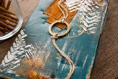 Handmade by Smilla: Обложка для электронной книги и МК по магнитной застежке.
