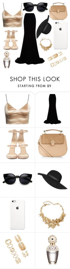 """Untitled #35"" by rudsha on Polyvore featuring Naeem Khan, Giuseppe Zanotti, Accessorize, Topshop, Oscar de la Renta, Forever 21, Marc Jacobs, women's clothing, women and female"
