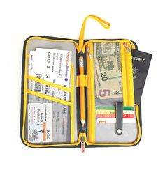 Lug Orange Label Scout Travel Wallet SCOUT-NAVY | Luggage Pros