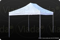 Carpa plegable color blanco 3x3 gama Enduro #carpa #carpaplegable #carpaplegablebarata http://viada.net/tienda/