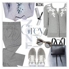 """""""Dezzal"""" by teoecar ❤ liked on Polyvore featuring New Balance, Roland Mouret, Bobbi Brown Cosmetics and dezzal"""