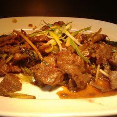 Mongolian Beef Mongolian Beef, Chinese Food, Asian, Meat, Baking, Bakken, Chinese Cuisine, Backen, China Food