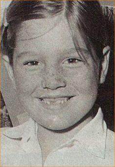 Prinses Máxima op ongeveer 8-jarige leeftijd