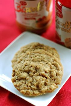 Bake.Frost.Repeat: Biscoff Oatmeal Cookies