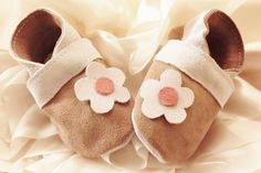 Baby Soft Sole Leather Shoes  / Toddler Shoes -  Leather Moccasins Baby Shoes…