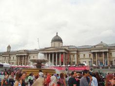Por Ai e Aqui: Trafalgar square e Palácio de Buckinghan