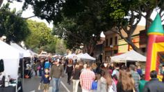 San Luis Obispo Farmers' Market San Luis Obispo Farmers Market, Go West, Land Of The Free, Street View, Marketing, Vacation, Places, Holidays Music, Holidays