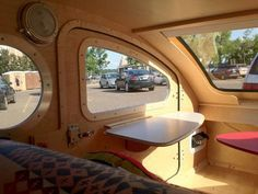 Vistabule Teardrop Trailer: One Year Later (Interior View)