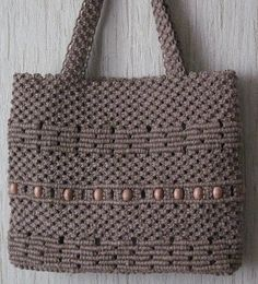 Macrame Purse, Macrame Cord, Macrame Knots, Micro Macrame, Macrame Supplies, Macrame Projects, Crochet Pouf Pattern, Sweet Bags, Handmade Purses