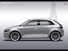 Audi A1 silver