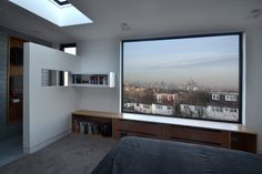 Framing the view. Loft conversion in West Norwood, South London by Selencky///Parsons Architects Loft Conversion Bedroom, Dormer Loft Conversion, Loft Conversions, Loft Room, Bedroom Loft, 1930s Semi Detached House, Loft Dormer, Loft Bathroom, Shower Bathroom
