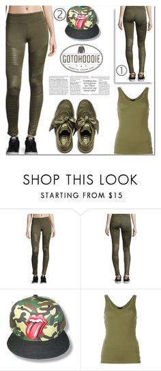 """Gotohoodie!"" by samra-bv ❤ liked on Polyvore featuring Alexander Wang, Puma, sporty, pants and gotohoodie"