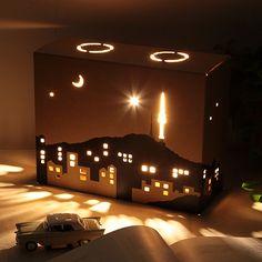 paper-lamp, Night in Seoul