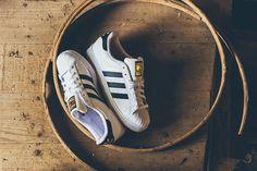Adidas Superstar - White/Black/Gold