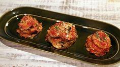 Michael Symon's Lightened-Up Eggplant Parmesan Recipe | The Chew - ABC.com