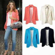 Modelos blazer feminino 2014