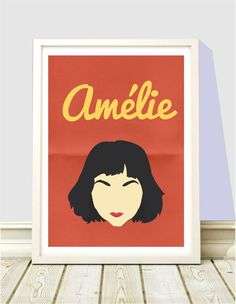 Poster Face Amelie - Hey You - A4 - R$ 25