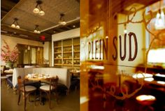 For authentic French cuisine- breakfast and dinner- try Plein Sud Restaurant and Bar a Vins in NYC's Tribeca.  Find Plein Sud on www.boomerang-dining.com.