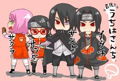 Tags: Fanart, NARUTO, Haruno Sakura, Uchiha Sasuke, Pixiv, Uchiha Itachi, Fanart From Pixiv, Uchiha Clan, Uchiha Sarada, Pixiv Id 2308280