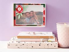 Celebrate the woman who gave you everything with a meaningful DIY gift. This photo box is inexpensive and easy to make, yet goes the extra mile to show Mom how much she means to you. Art From Recycled Materials, Photo Boxes, Vellum Paper, Extra Mile, Calendar Pages, Paper Source, Photo Memories, Diy Photo, Monogram Letters