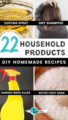 Save money DIY recipes for common household products. Most recipes call for natural ingredients you already have in your home. So many different products you can simply make at home with natural… Homemade Cleaning Products, Household Cleaning Tips, Cleaning Recipes, Household Products, House Cleaning Tips, Natural Cleaning Products, Cleaning Hacks, Natural Products, Green Cleaning