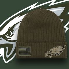 Stay warm while showing love for the Philadelphia Eagles and honoring those  who served in the · Salute To ServicePhiladelphia EaglesMilitary ... 6e1bc23ef