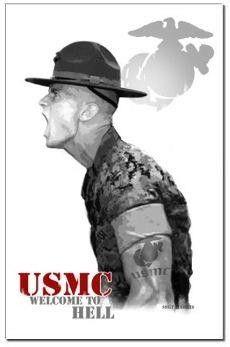 USMC Marine boot camp