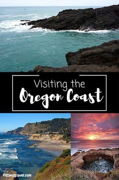 Tips for visiting the Oregon Coast on a day trip. Oregon Coast is is a great road trip from Portland, Oregon! Between the cliffs, the lighthouses, and the state parks, there is plenty to see and do! Fittwotravel.com