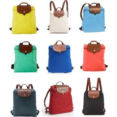 Longchamp Backpacks by stephanie-rozek-paris on Polyvore featuring polyvore, fashion, style and Longchamp