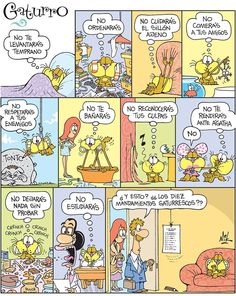Los 10 mandamientos gaturrescos de NikGaturro ► futuro indicativo // via Sandrine. ¡Gracias mil!♥