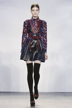 The Best of New York Fashion Week Fall 2015 - Tanya Taylor Fall 2015-Wmag