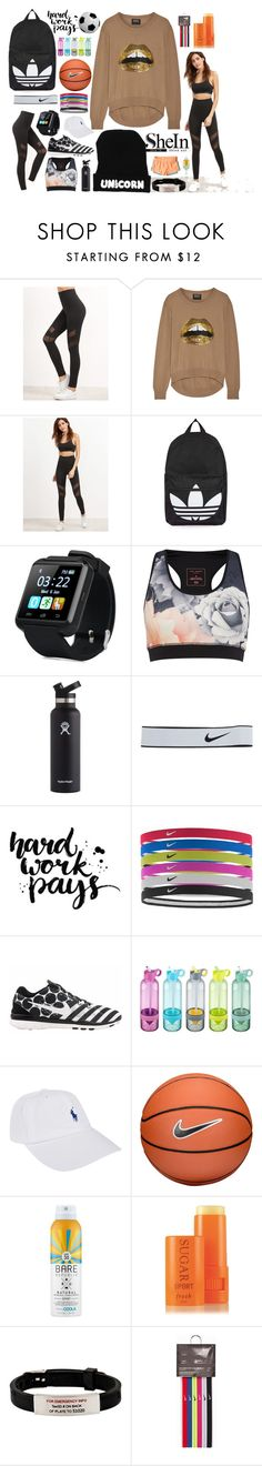 """""""She IN Sport Life"""" by sugar-zombie ❤ liked on Polyvore featuring Markus Lupfer, Topshop, Ted Baker, Hydro Flask, NIKE, Polo Ralph Lauren, Bare Republic, Fresh and Hollister Co."""