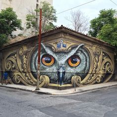 WD street art. | Lustik