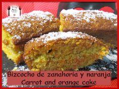 -- BIZCOCHO DE ZANAHORIA Y NARANJA -- VÍDEO DE LA RECETA: https://www.youtube.com/watch?v=OHfalsZT5QE -- El Robarecetas es tú canal de cocina!!! Hasta luego Robarecetillas!!!