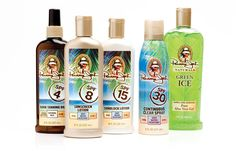 The Panama Jack Sun Care line features shimmering golden and pearl white bottles with rich tropical label graphics. Integrated Marketing Communications, Store Signage, Store Layout, Retail Concepts, Sun Care, Aloe Vera Gel, Sunscreen, Pearl White, Panama