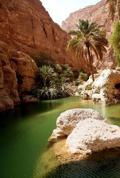 Wadi Shab, Oman.
