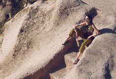 Patrycja Gardygajlo Dons Nomadic Fashion in Vogue Turkey