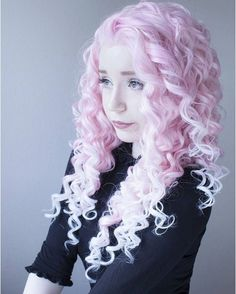 Beautiful pale pink hair