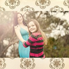 outside photo shoot ideas for moms and daughters | mother & daughter – a photo shoot… | Custom Hand Stamped Jewelry ...