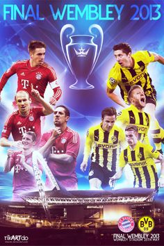 Champions League Final Wembley 2013 on Behance