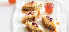 Orange Blossom Baklava | Baking | MiNDFOOD