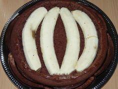 NapadyNavody.sk   Čokoládový krtko s banánmi a tvarohovým krémom Sausage, Meat, The Originals, Food, Sausages, Essen, Meals, Yemek, Eten